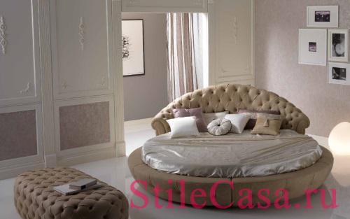 Круглая кровать Estro, фабрика Piermaria