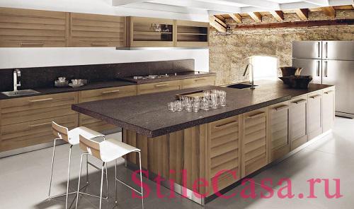 Кухня Fiamma, фабрика GeD Arredamenti