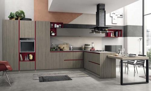 Кухня Replay, фабрика Stosa Cucine