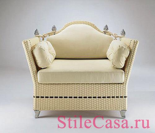 Плетеная мебель Alphapouf, фабрика Smania