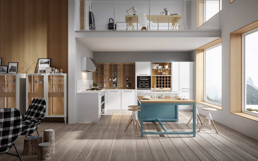 Кухня Nordic, фабрика Old Line