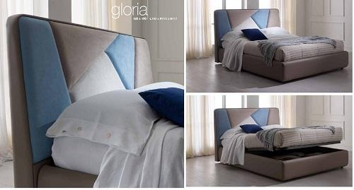 Кровать Gloria, фабрика Misura salotti