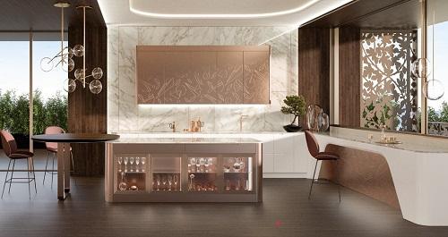 Кухня Sixties  Seductive Luxury, фабрика Castagna Cucine
