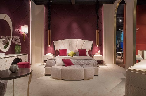 Кровать PR80, фабрика Stella del Mobile