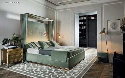 Кровать Fabula, фабрика Angelo Cappellini