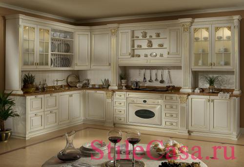 Кухня Duca d Este, фабрика Megaros