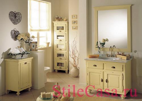 Мебель для ванной Lampedusa, фабрика Mobili Di Castello