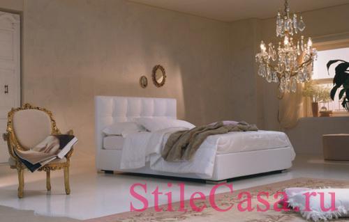Кровать Max capitone, фабрика Twils