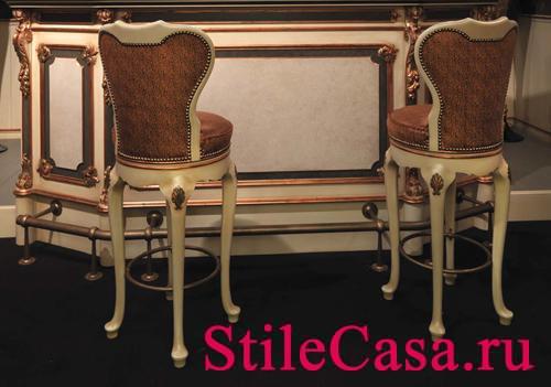 Барный стул Art. 7104, фабрика Ezio Bellotti