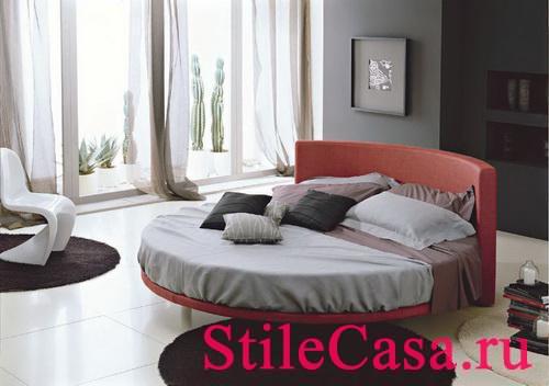 Круглая кровать Otello, фабрика Meta Design