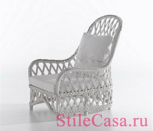 Плетеная мебель Embassy, фабрика Bonacina Vittorio