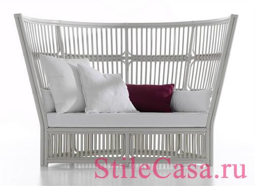 Плетеная мебель Orlando, фабрика Bonacina Vittorio