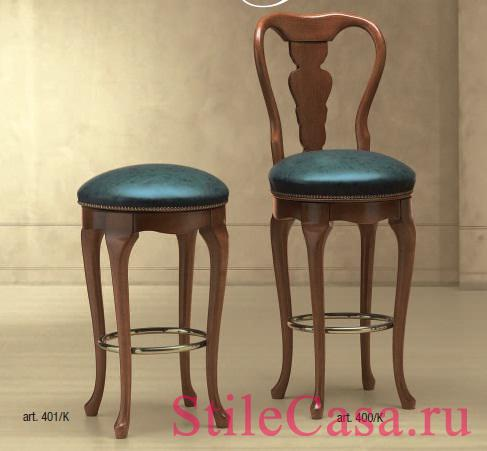 Барный стул Alto, фабрика Morello Gianpaolo
