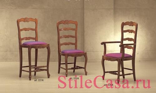 Барный стул Petra, фабрика Morello Gianpaolo