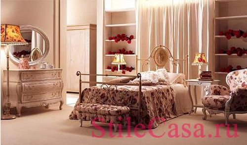 Кровать Carolina, фабрика Giusti Portos