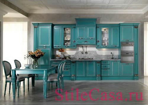 Кухня Belle epoque, фабрика Tomassi Cucine
