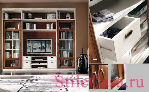 Мебель для ТВ Art 707, фабрика Mirandola