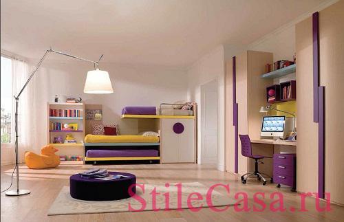 Мебель для детской Bon Ton, фабрика Trabattoni