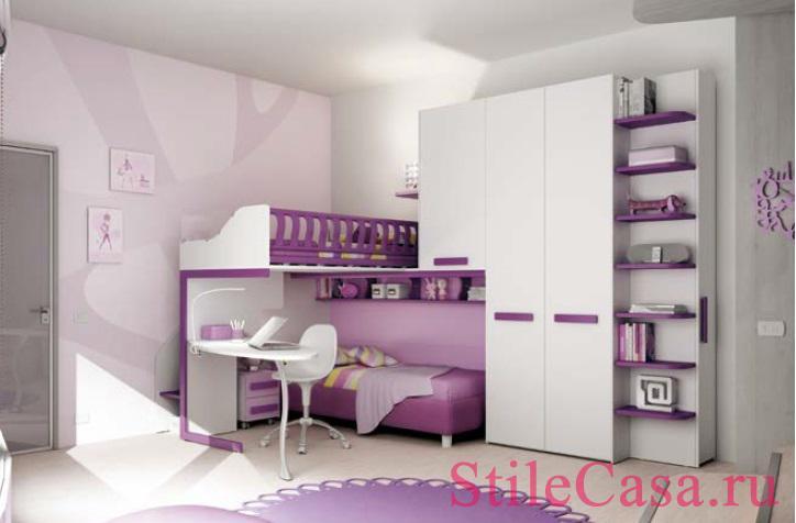 Мебель для детской KS14, фабрика Moretti Compact