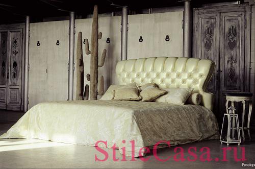 Кровать Penelope, фабрика Pigoli Salotti