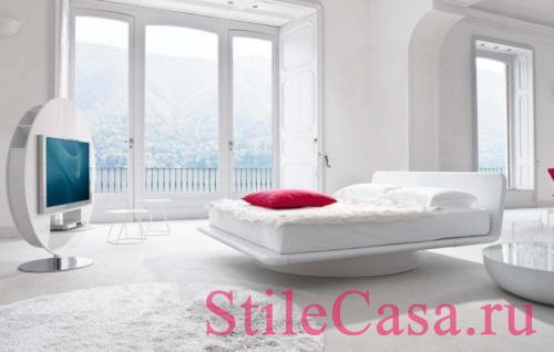 Кровать Giotto, фабрика Bonaldo