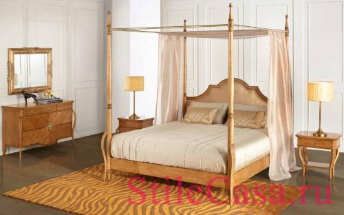 Кровать с балдахином Liberty 18005SSE, фабрика AM Classic