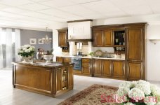 Кухня Cristine ciliegio, фабрика Lubiex Cucine