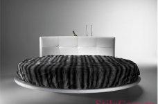 Круглая кровать Crystal