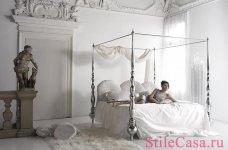 Кровать с балдахином Noir, фабрика Cattelan Italia