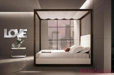 Кровать с балдахином Love Letters, фабрика Malerba