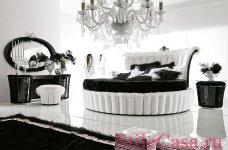 Круглая кровать Tiffany