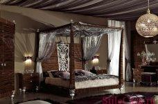 Кровать с балдахином Blue Diamond, фабрика Lanpas
