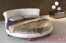 Круглая кровать Kent rotondo, фабрика DV Home Collection