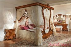 Кровать с балдахином Napoleone, фабрика Antonelli M.& C