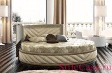 Круглая кровать Art 806, фабрика Florence Collections