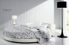 Круглая кровать Harem, фабрика Loiudiced
